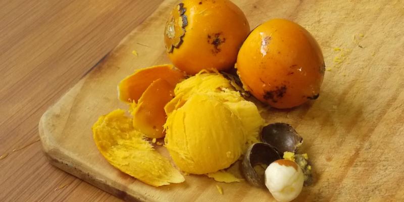 fruto da pupunha